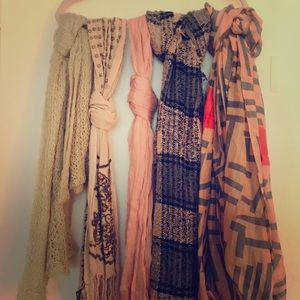 Women's Individual Styled Scarves